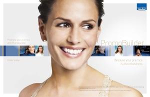 Aesthetic dermatology practice-building tool
